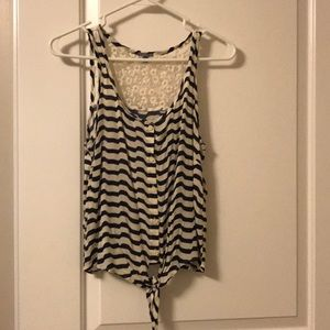 Medium button down tank
